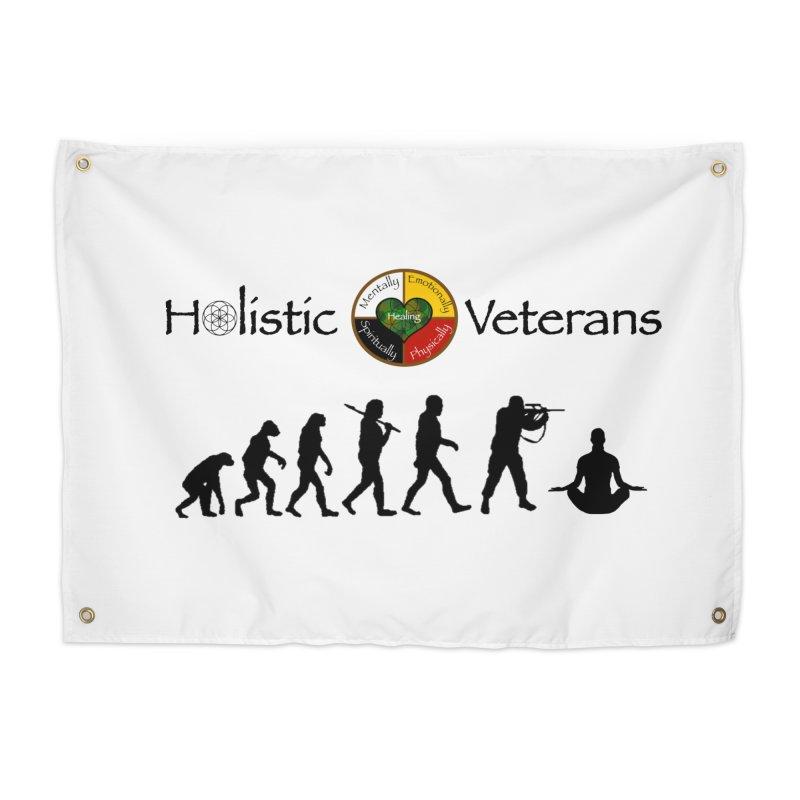 HV Logo Home Tapestry by HolisticVeterans Store