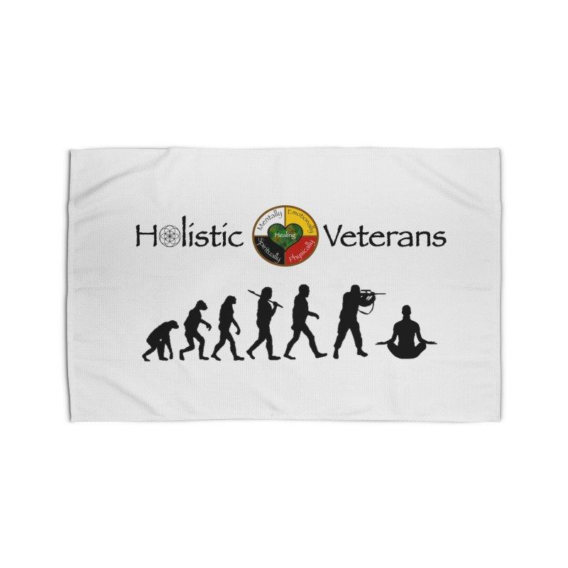 HV Logo Home Rug by HolisticVeterans Store
