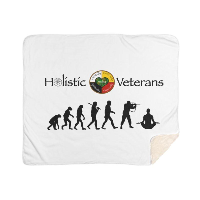 HV Logo Home Sherpa Blanket Blanket by HolisticVeterans Store