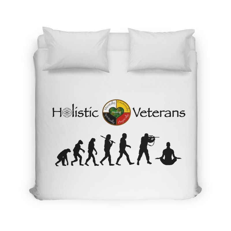 HV Logo Home Duvet by HolisticVeterans Store