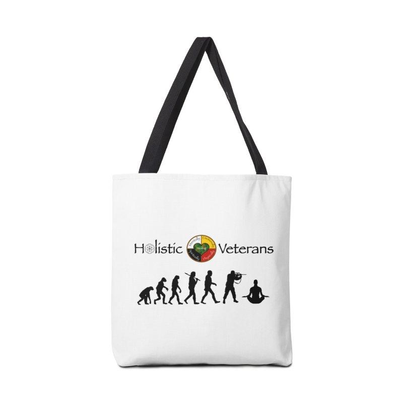 HV Logo Accessories Tote Bag Bag by HolisticVeterans Store