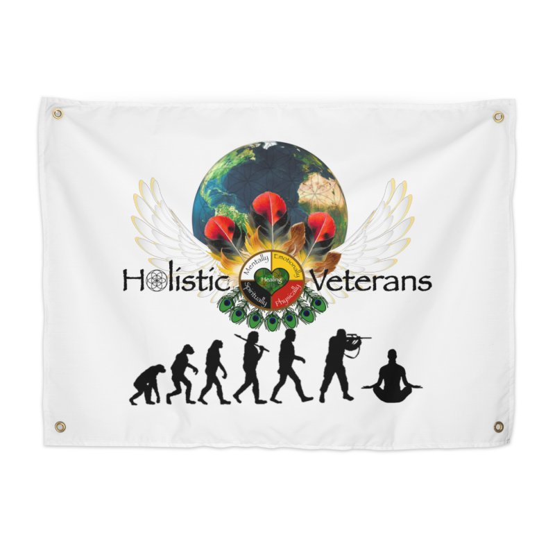 HV - Healing Humanity  Home Tapestry by HolisticVeterans Store