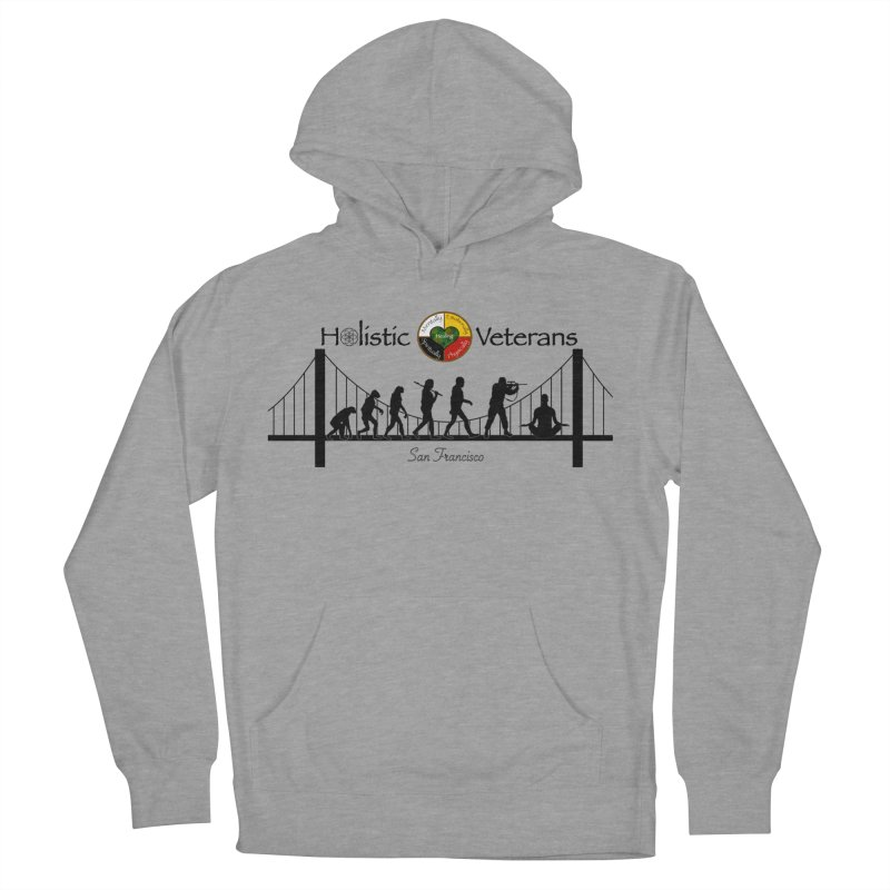 HV - San Francisco Women's French Terry Pullover Hoody by HolisticVeterans Store