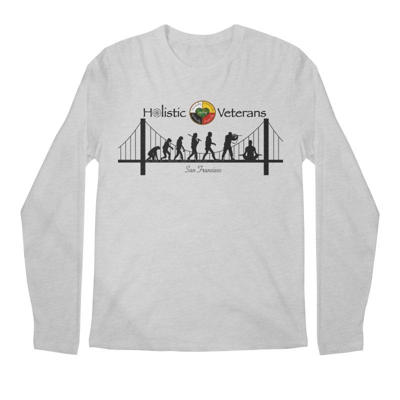 HV - San Francisco Men's Regular Longsleeve T-Shirt by HolisticVeterans Store