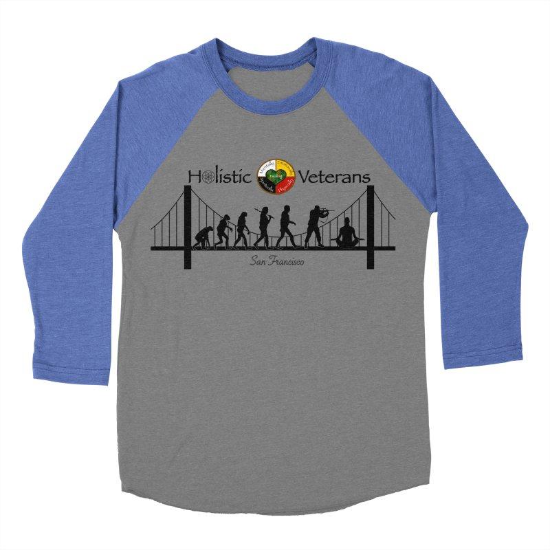 HV - San Francisco Men's Baseball Triblend Longsleeve T-Shirt by HolisticVeterans Store