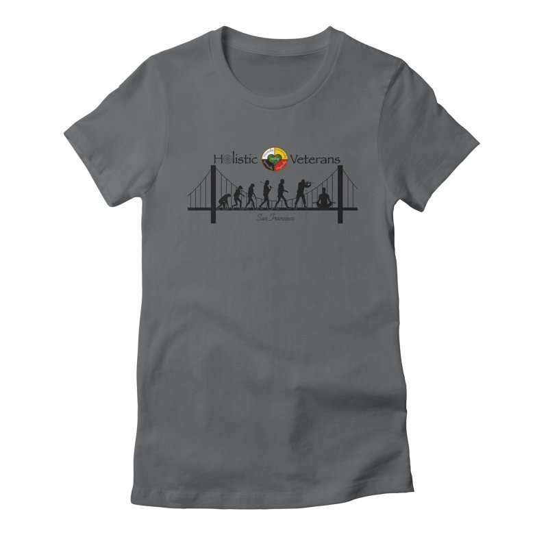 HV - San Francisco Women's Fitted T-Shirt by HolisticVeterans Store