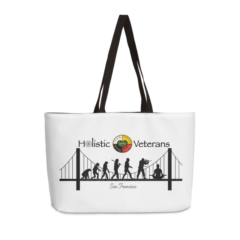 HV - San Francisco Accessories Weekender Bag Bag by HolisticVeterans Store