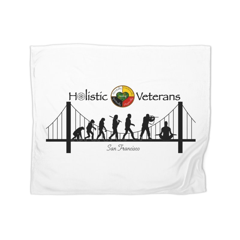 HV - San Francisco Home Fleece Blanket Blanket by HolisticVeterans Store