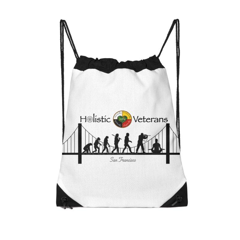 HV - San Francisco Accessories Drawstring Bag Bag by HolisticVeterans Store