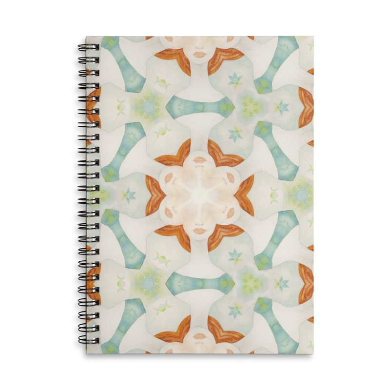 Holle Grail Accessories Lined Spiral Notebook by Designed by Amy Gail