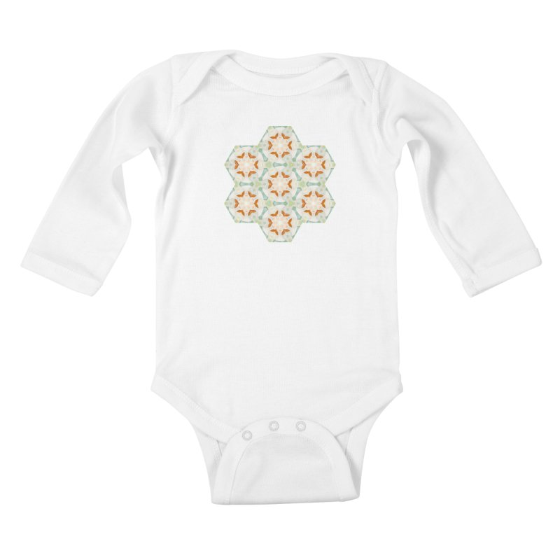Holle Grail Kids Baby Longsleeve Bodysuit by Designed by Amy Gail