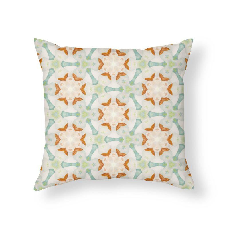 Holle Grail Home Throw Pillow by Amy Gail & Holle Grail