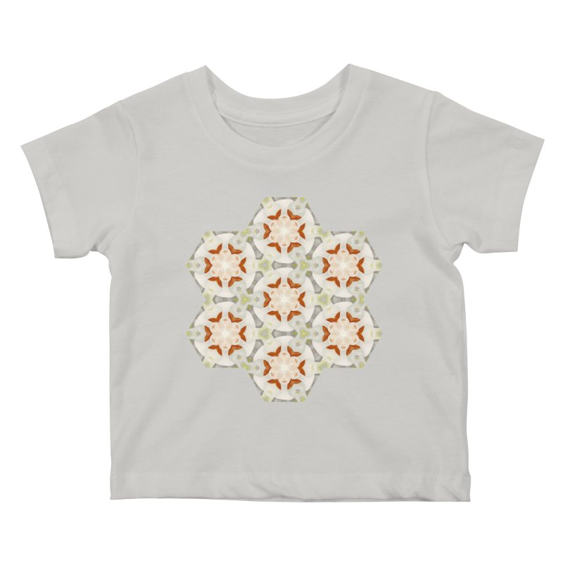 Holle Grail in Shades of Grey Kids Baby T-Shirt by Amy Gail | Holle Grail