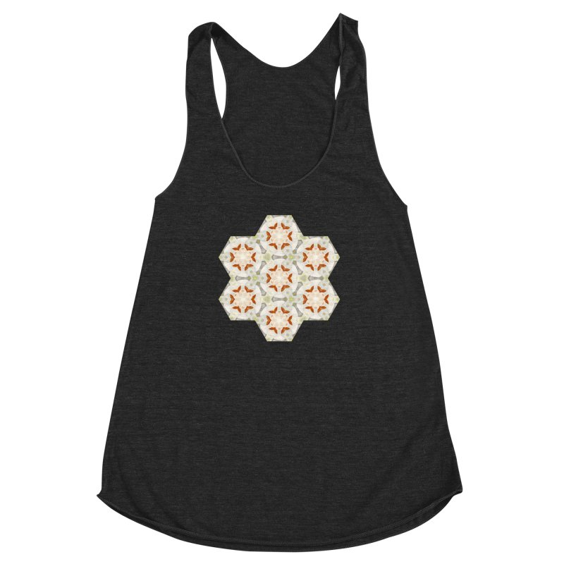 Holle Grail in Shades of Grey Women's Racerback Triblend Tank by Amy Gail & Holle Grail
