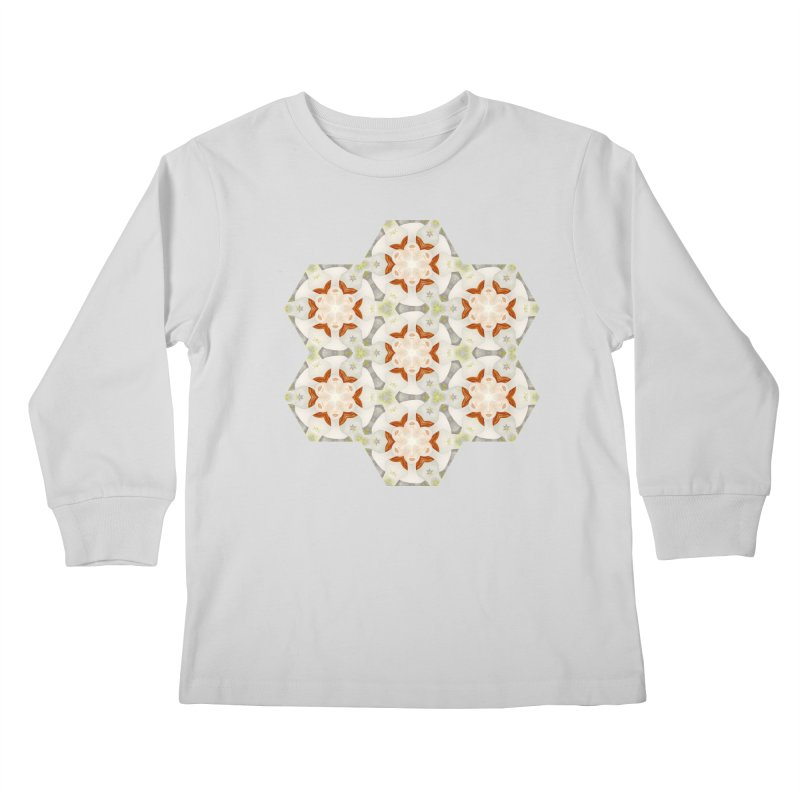 Holle Grail in Shades of Grey Kids Longsleeve T-Shirt by Amy Gail | Holle Grail