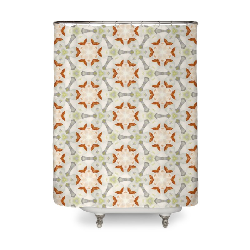 Holle Grail in Shades of Grey Home Shower Curtain by Amy Gail | Holle Grail