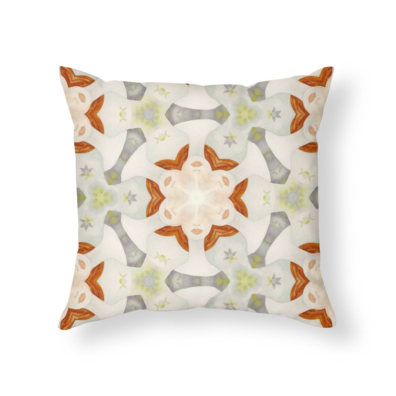 Holle Grail in Shades of Grey Home Throw Pillow by Designed by Amy Gail