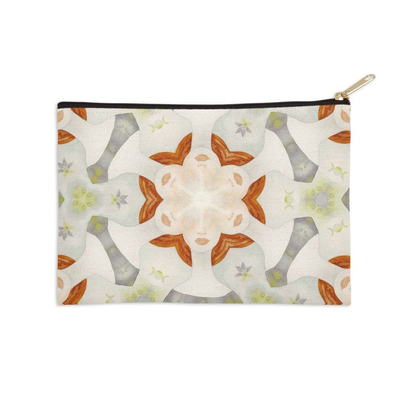 Holle Grail in Shades of Grey Accessories Zip Pouch by Amy Gail | Holle Grail