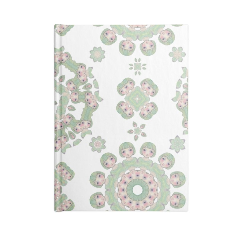 Nisa Accessories Blank Journal Notebook by Designed by Amy Gail