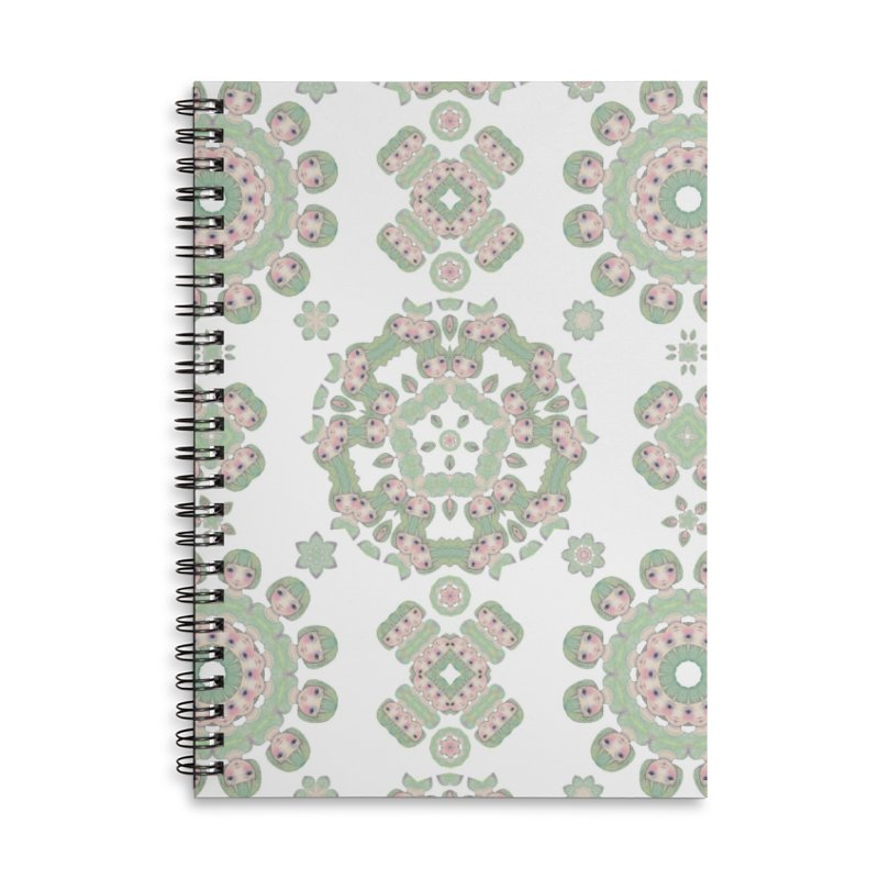 Nisa Accessories Lined Spiral Notebook by Designed by Amy Gail