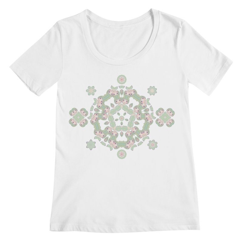 Nisa Women's Scoopneck by Amy Gail   Holle Grail
