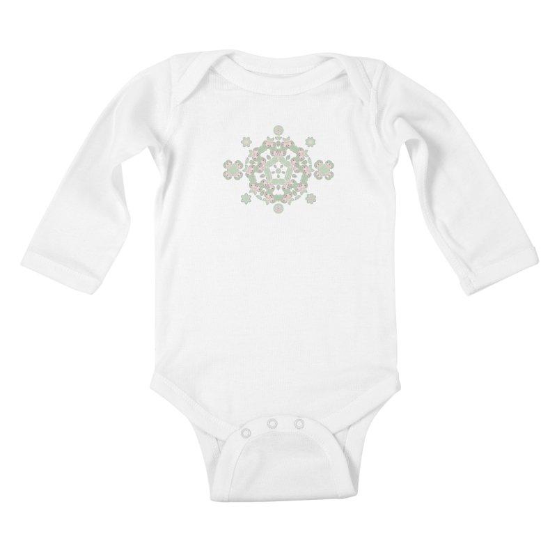 Nisa Kids Baby Longsleeve Bodysuit by Amy Gail   Holle Grail