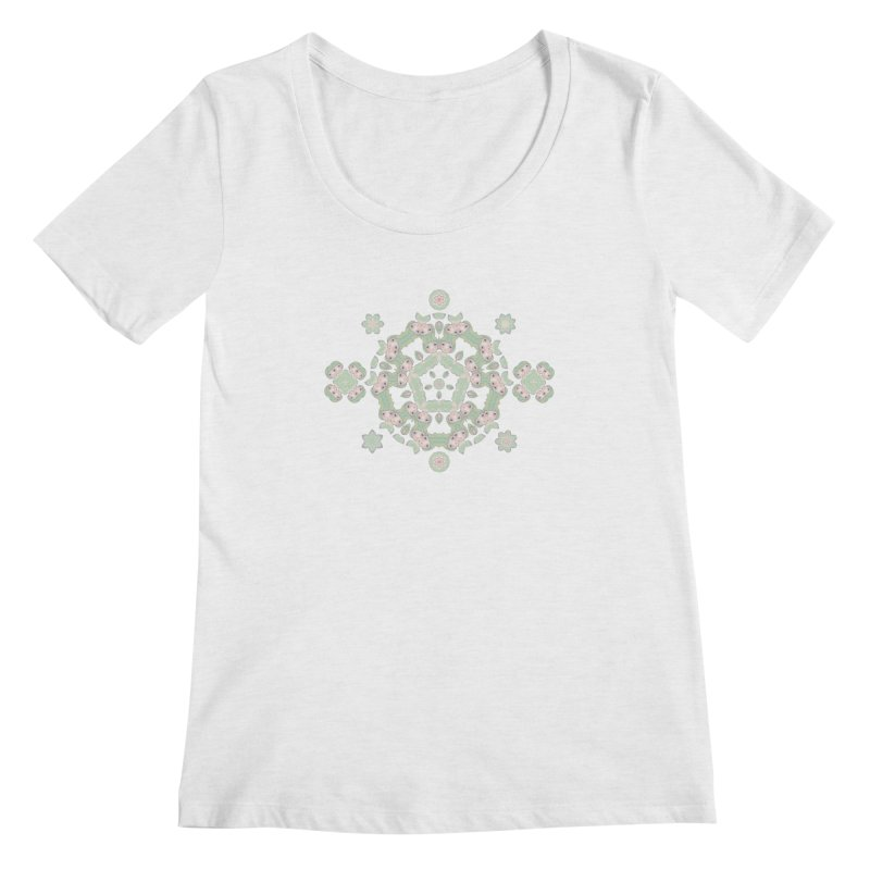 Nisa Women's Regular Scoop Neck by Designed by Amy Gail