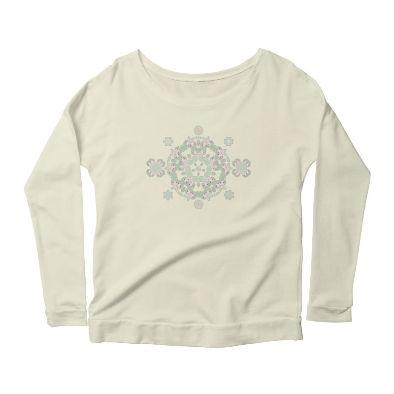Nisa Women's Scoop Neck Longsleeve T-Shirt by Amy Gail | Holle Grail
