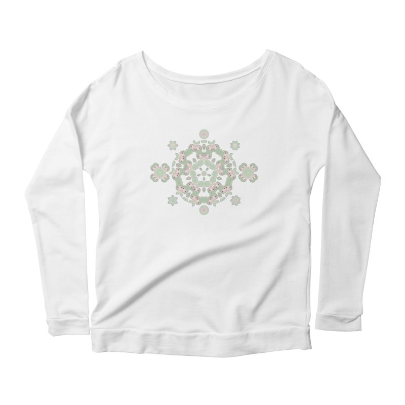 Nisa Women's Scoop Neck Longsleeve T-Shirt by Amy Gail | Holle Grail