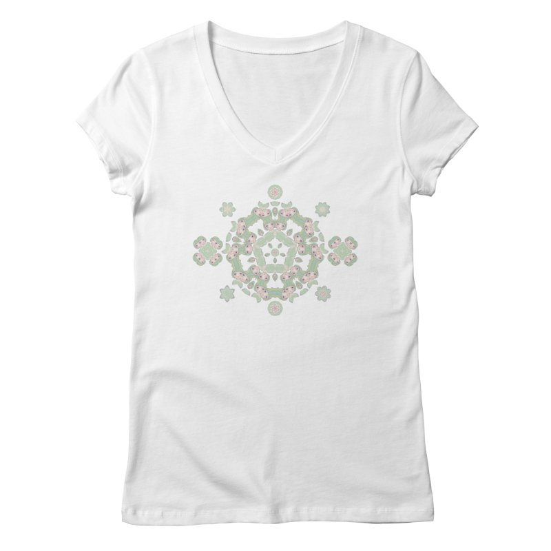 Nisa Women's V-Neck by Amy Gail | Holle Grail
