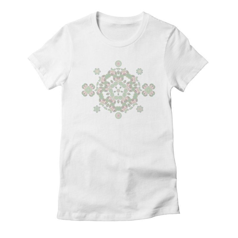Nisa Women's Fitted T-Shirt by Amy Gail   Holle Grail