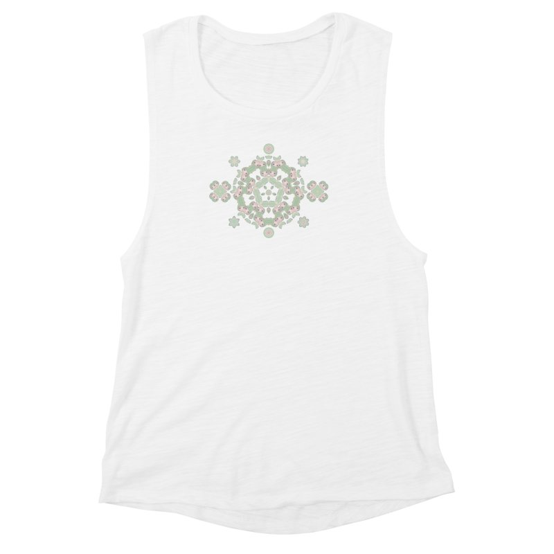 Nisa Women's Muscle Tank by Designed by Amy Gail