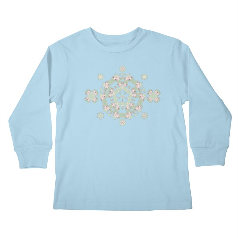 Nisa Kids Longsleeve T-Shirt by Designed by Amy Gail