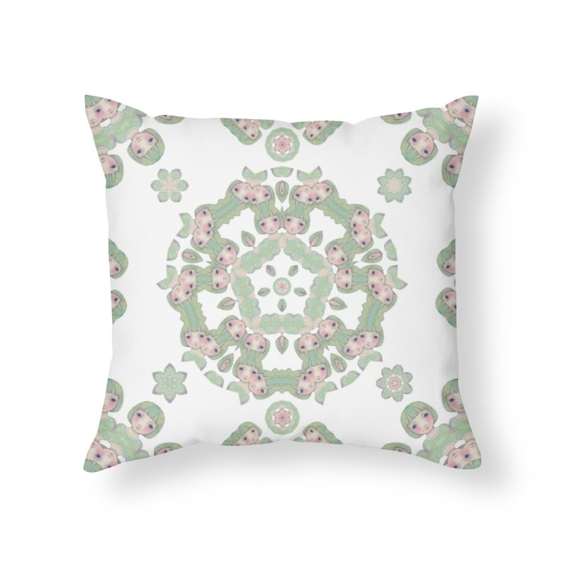 Nisa in Throw Pillow by Amy Gail | Holle Grail