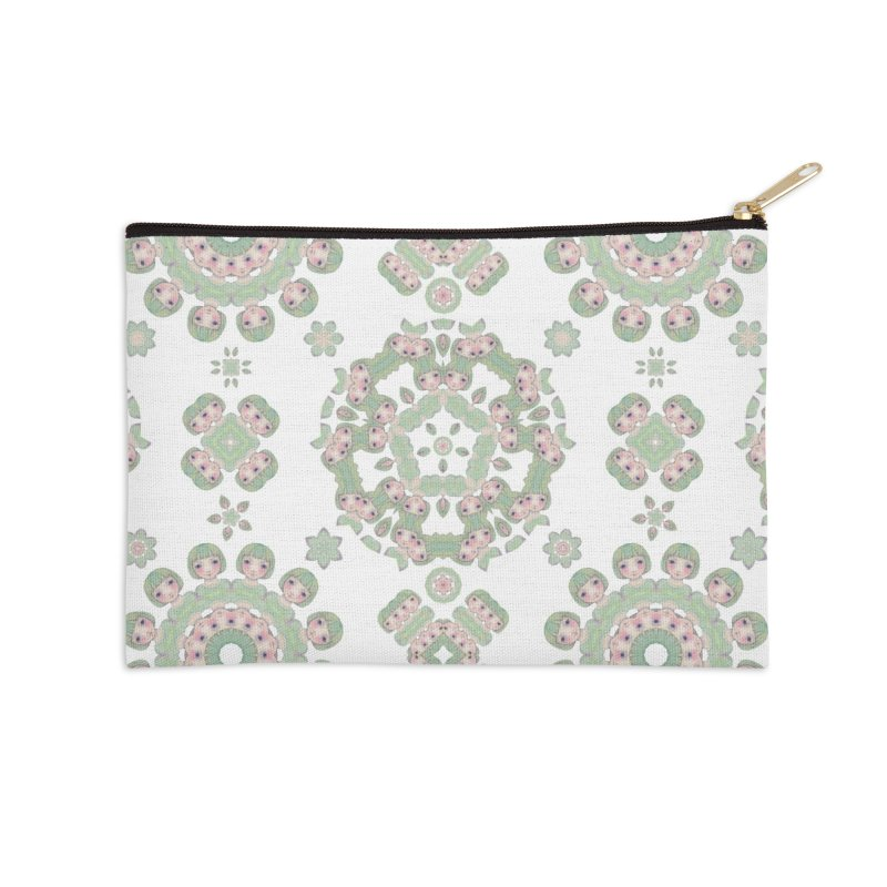 Nisa Accessories Zip Pouch by Amy Gail | Holle Grail