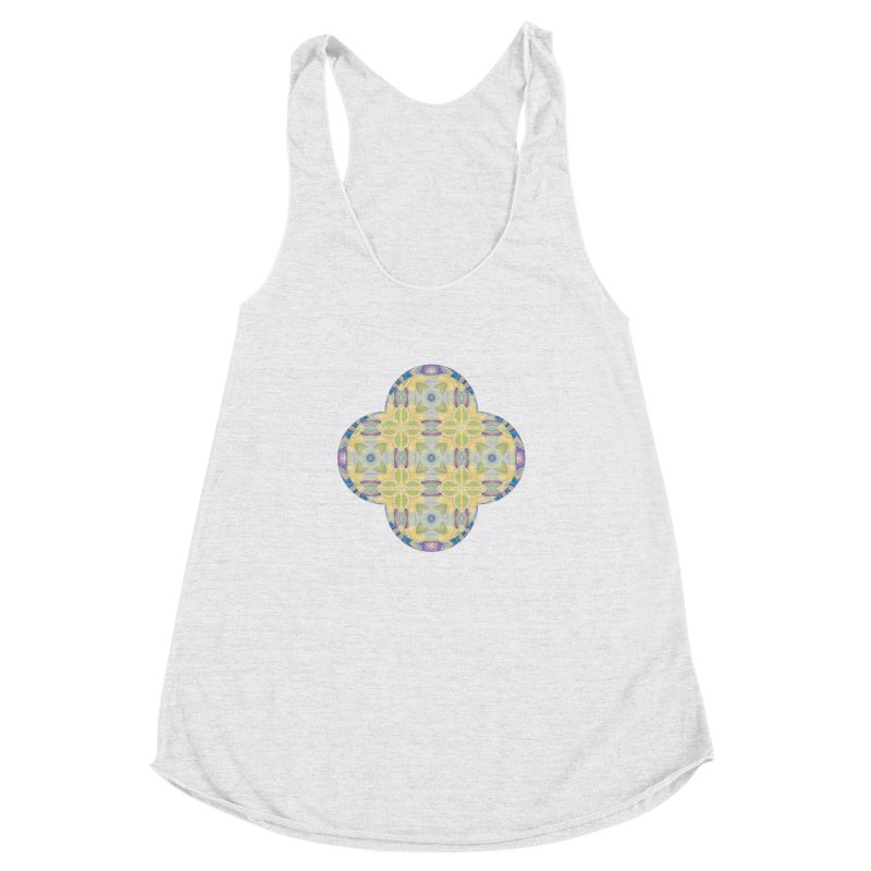 Maeby by Amy Gail Women's Racerback Triblend Tank by Designed by Amy Gail