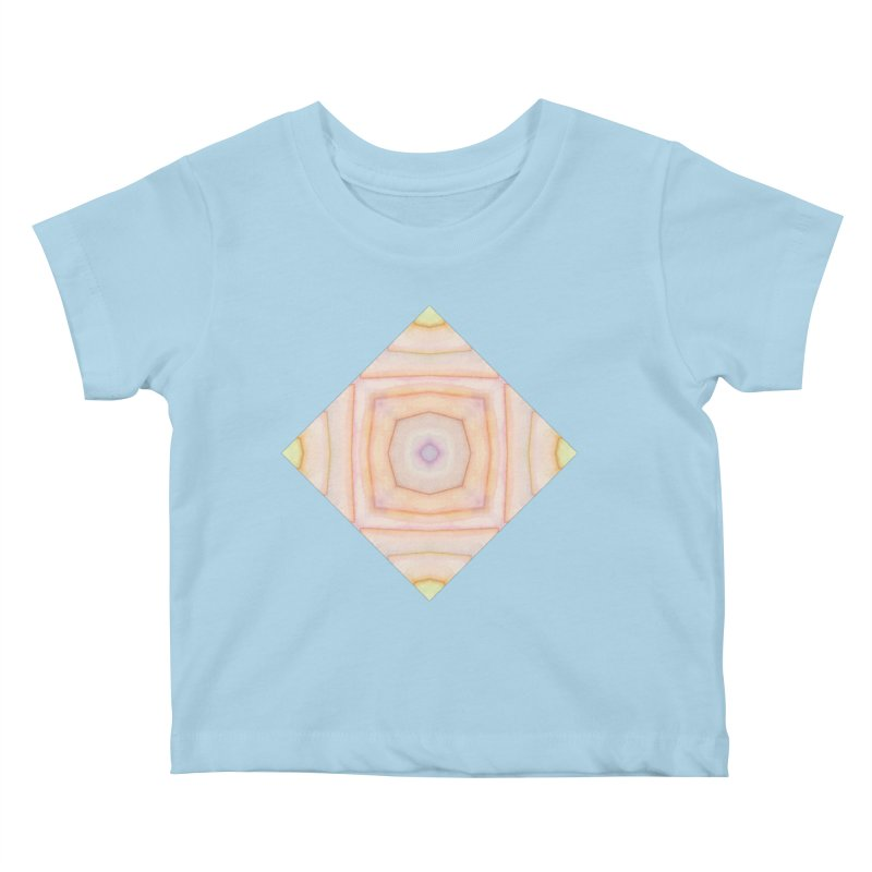 Nina by Amy Gail Kids Baby T-Shirt by Designed by Amy Gail