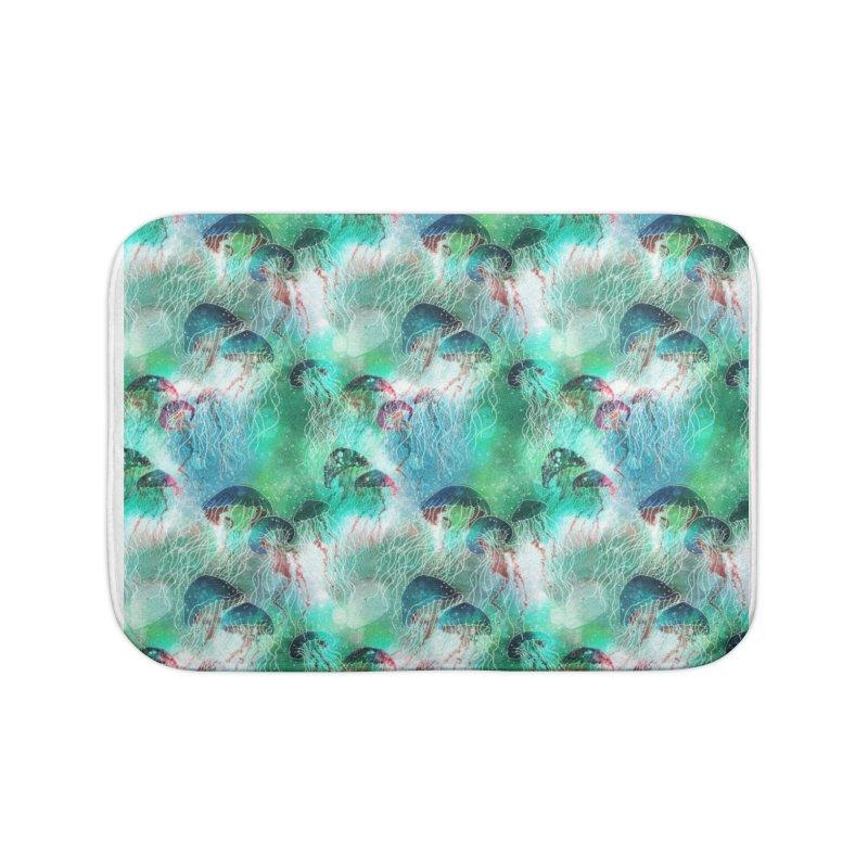 Medusa Home Bath Mat by HoneyGherkin's Artist Shop