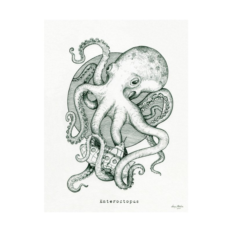 Enteroctopus Home Rug by HoneyGherkin's Artist Shop