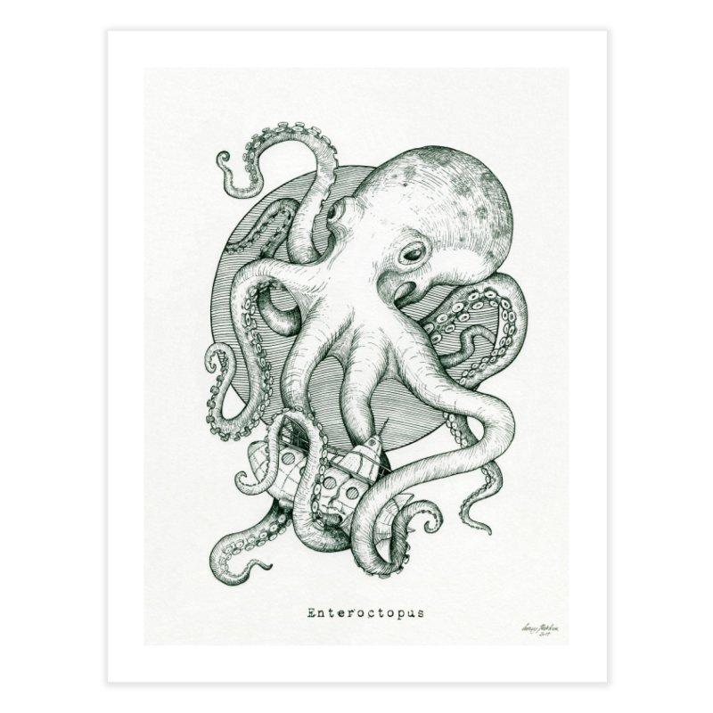 Enteroctopus Home Fine Art Print by HoneyGherkin's Artist Shop