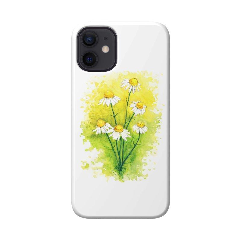 Chamomile Accessories Phone Case by HoneyGherkin's Artist Shop