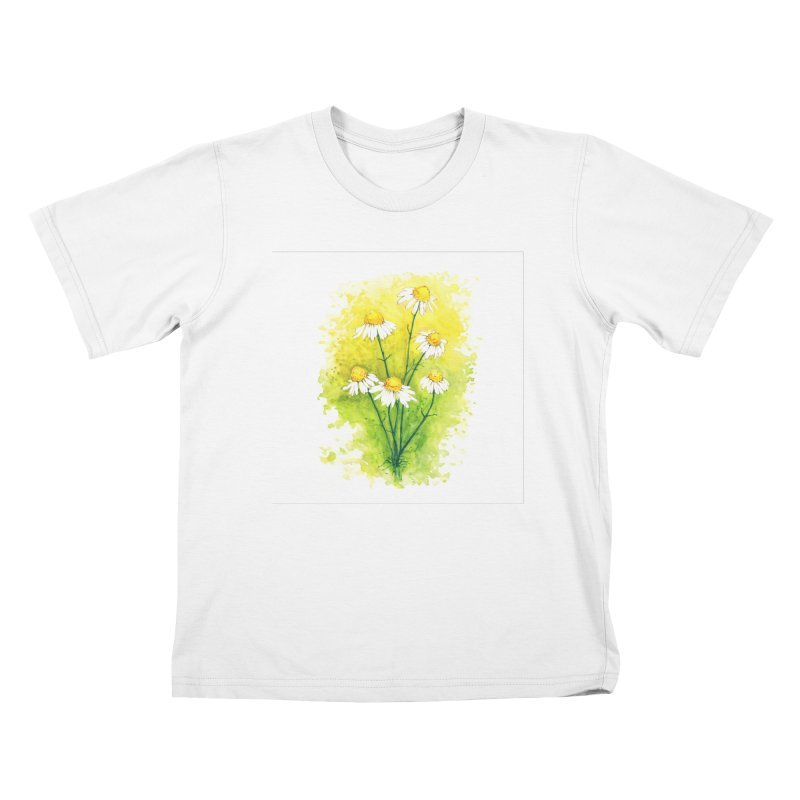 Chamomile Kids T-Shirt by HoneyGherkin's Artist Shop