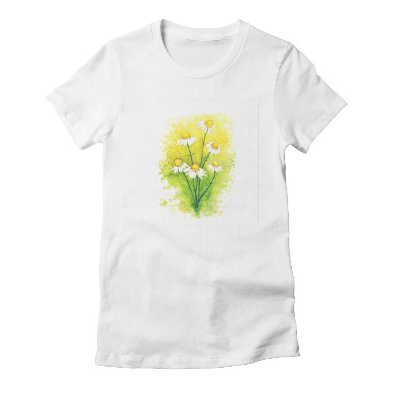Chamomile Women's T-Shirt by HoneyGherkin's Artist Shop