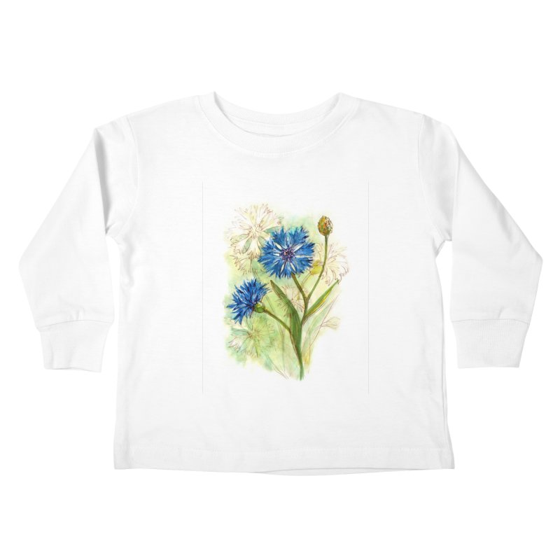 Cornflower Kids Toddler Longsleeve T-Shirt by HoneyGherkin's Artist Shop