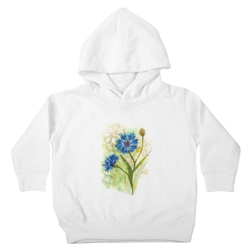 Cornflower Kids Toddler Pullover Hoody by HoneyGherkin's Artist Shop
