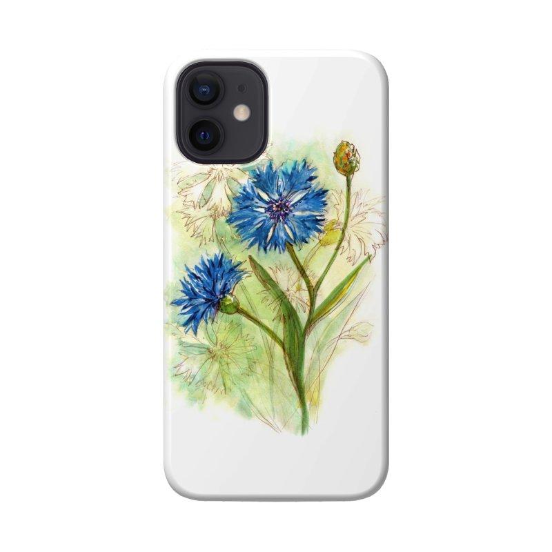 Cornflower Accessories Phone Case by HoneyGherkin's Artist Shop