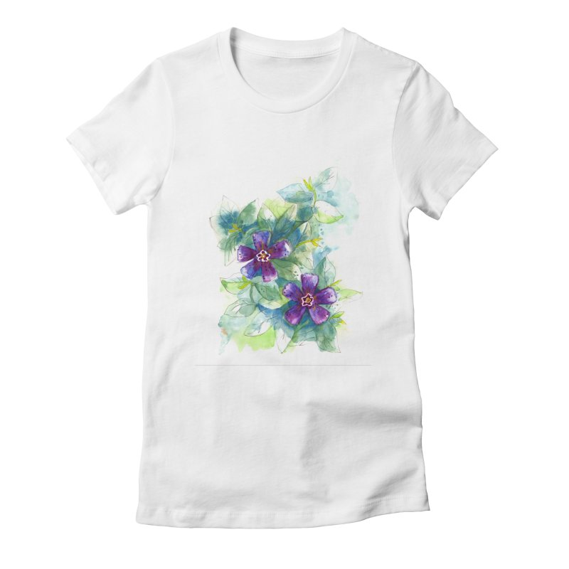Periwinkle Women's T-Shirt by HoneyGherkin's Artist Shop