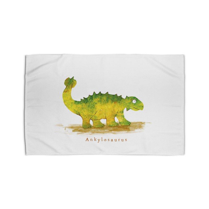 Ankylosaurus Home Rug by HoneyGherkin's Artist Shop