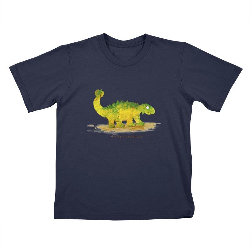 Ankylosaurus Kids T-Shirt by HoneyGherkin's Artist Shop