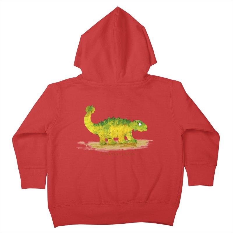 Ankylosaurus Kids Toddler Zip-Up Hoody by HoneyGherkin's Artist Shop